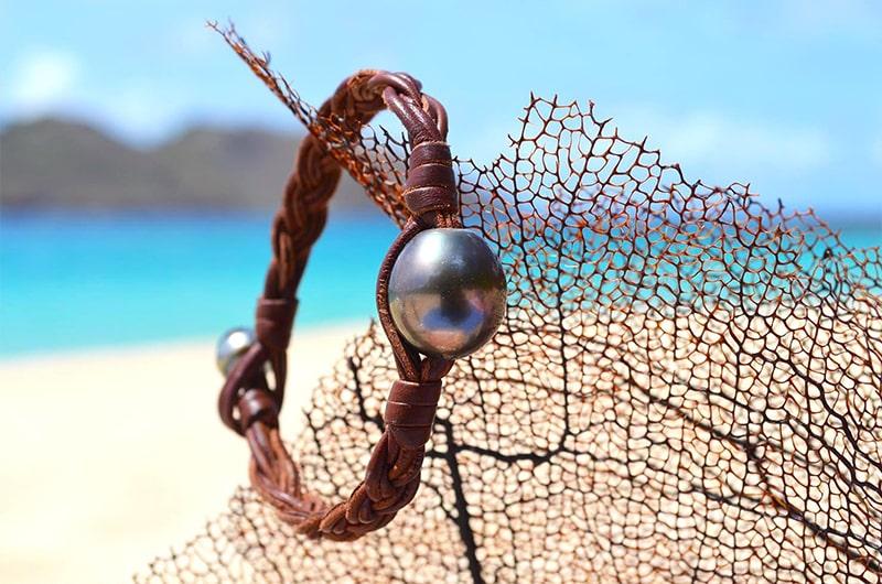 Bijoux perles de Tahiti - Saint-Barthélemy