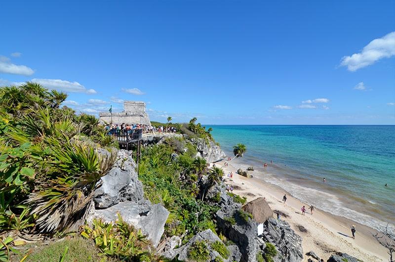 Les ruines de Tulum - Quintana Roo au Mexique