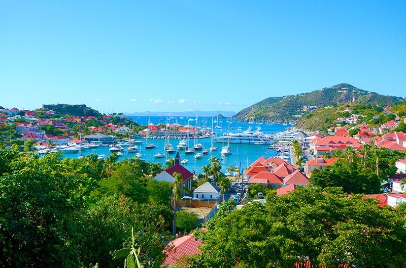Visite de l'ile de Saint-Barthélémy - Gustavia