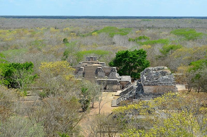 Les ruines d'Ek Balam dans le Yucatan
