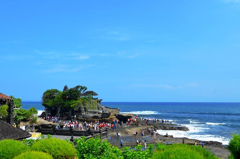 Top 5 des destinations en Indonésie - Tanah Lot