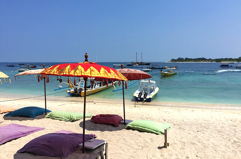 Top 5 des destinations en Indonésie - Gili Trawangan