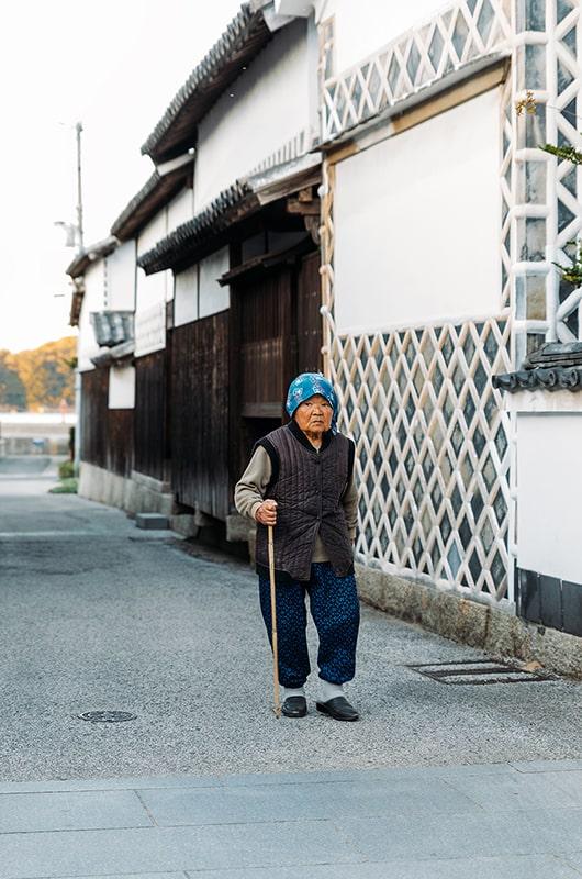 Village de pêcheurs au Japon