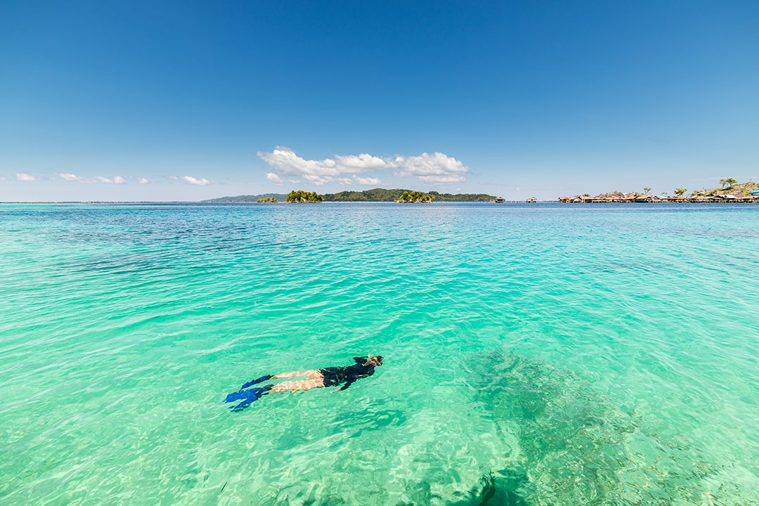 Site de plongée et de snorkeling en Indonésie
