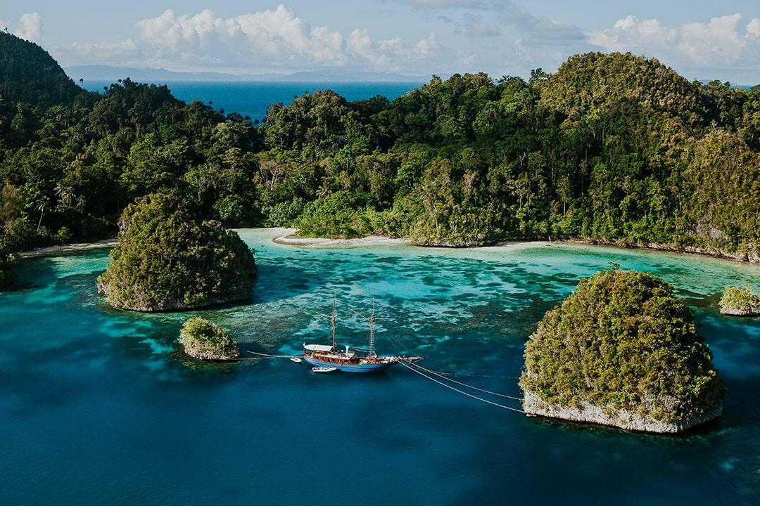 Site de snorkeling en Indonésie