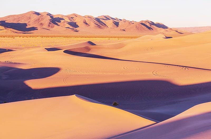 La vallée de la mort, Death Valley en Californie aux USA